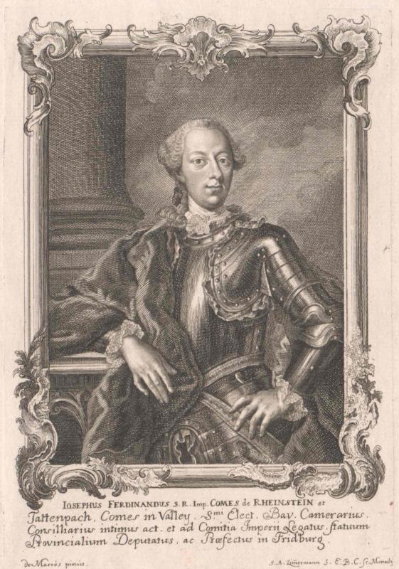 Rheinstein und Tattenbach, Josef Ferdinand Graf zu