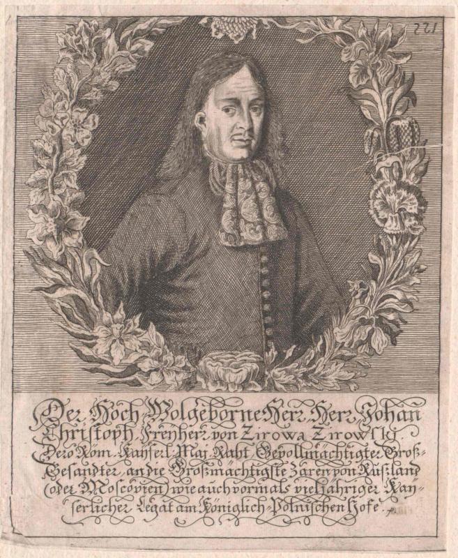 Zirowa-Zirowski, Johann Christoph Freiherr von