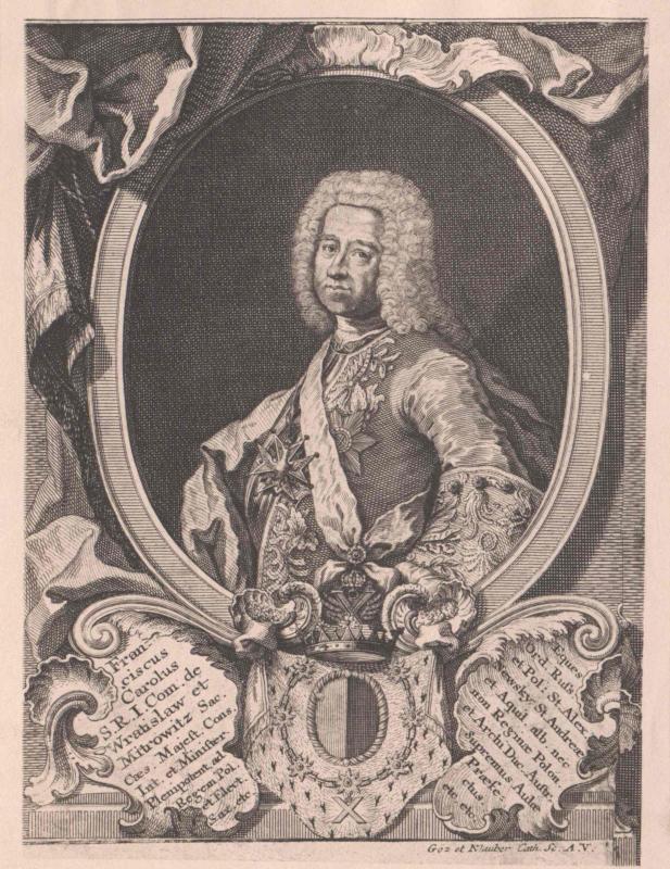 Wratislaw von Mitrowitz, Franz Karl Graf