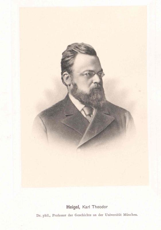 Heigel, Karl Theodor Ritter von