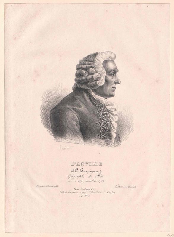 Anville, Jean Baptiste Bourguignon d'