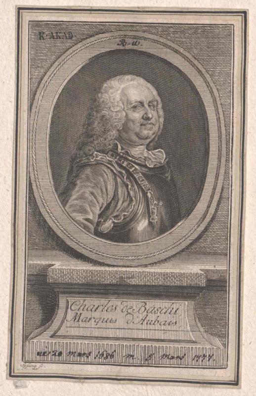 Baschi, Charles marquis d'Aubais de
