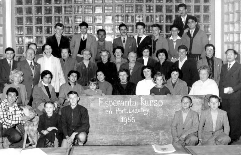 Esperanto-Kurs, Port Lyautey 1955