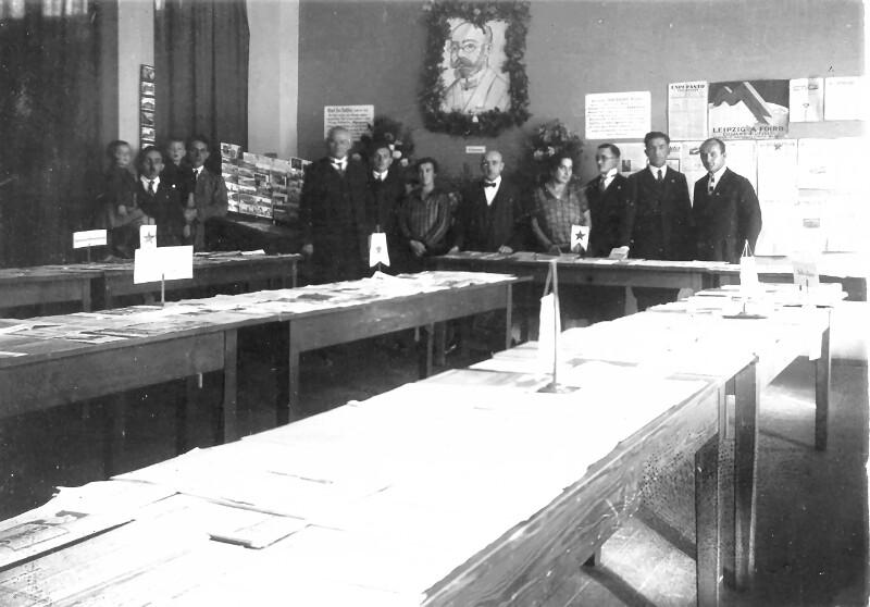 Esperanto-Ausstellung, Regensburg um 1925
