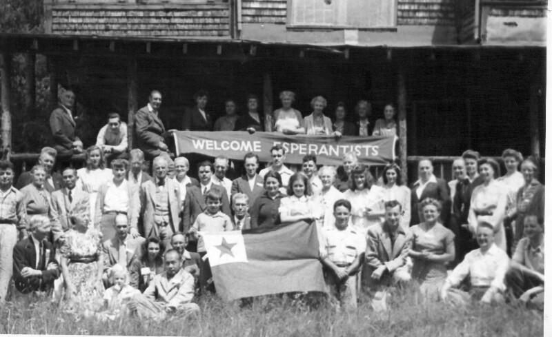"""36. Kongress der """"Esperanto-Asocio por Norda Ameriko"""", Conway 1946"""