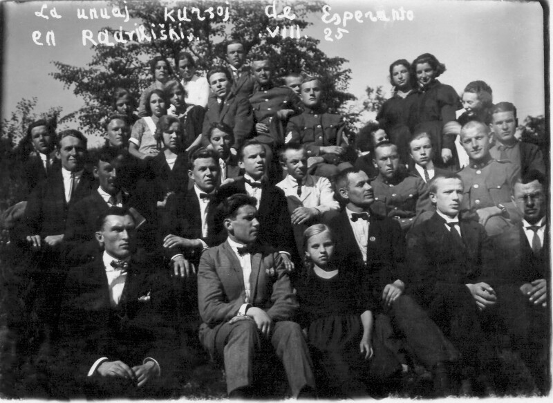Esperanto-Kurs, Radviliskis 1925