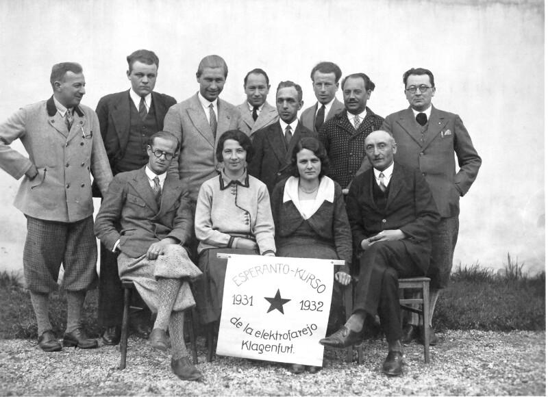 Esperanto-Kurs, Klagenfurt 1932