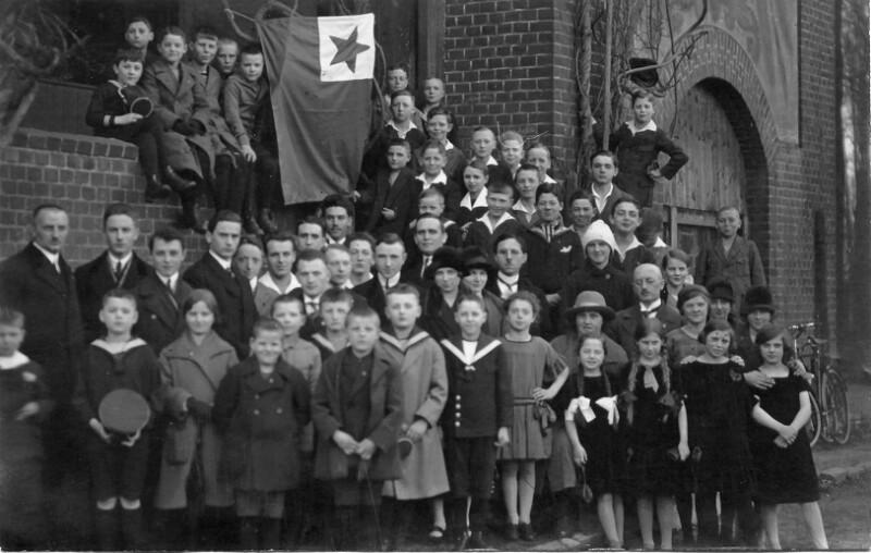 Esperanto-Kurs an der Bürgerschule, Rheydt 1926