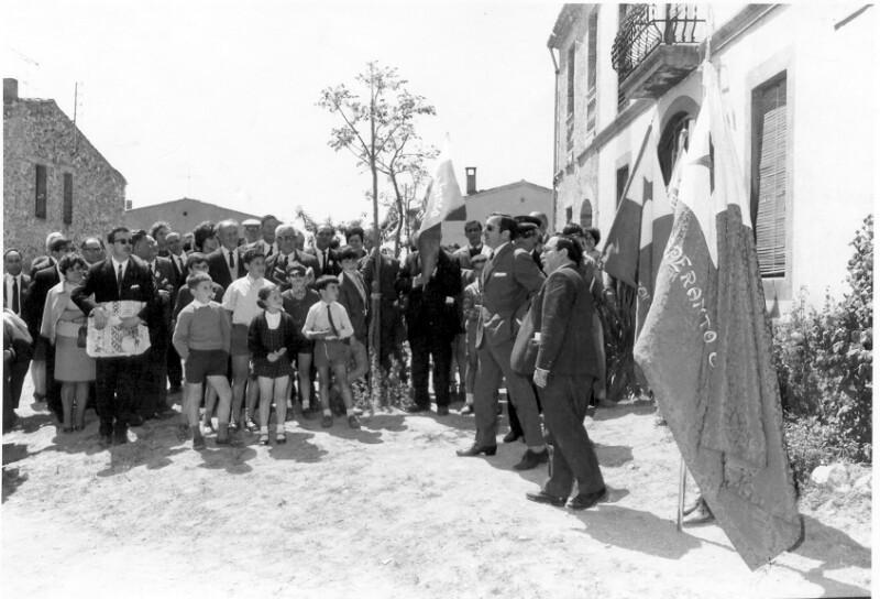 Eröffnung des Spanischen Esperanto-Museums, San Pablo de Ordal 1968