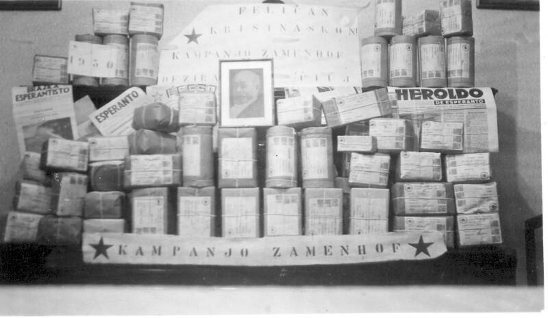 """Kampanjo Zamenhof"", Rio de Janeiro 1950"