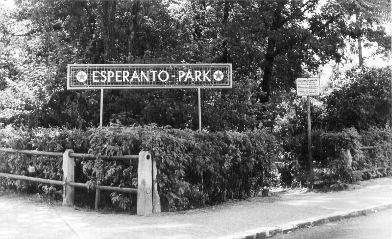 Wiener Neustadt, Esperanto-Park 1958