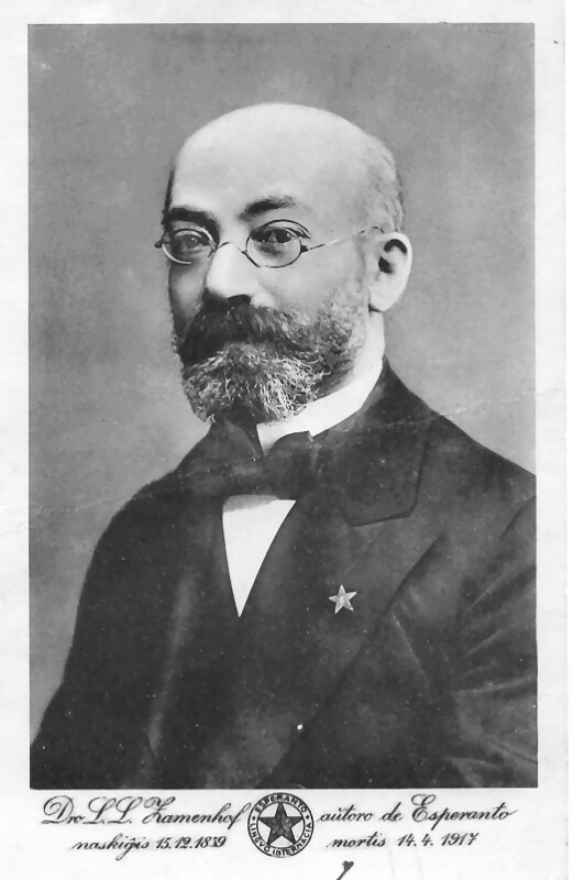 Ludwik L. Zamenhof, um 1895