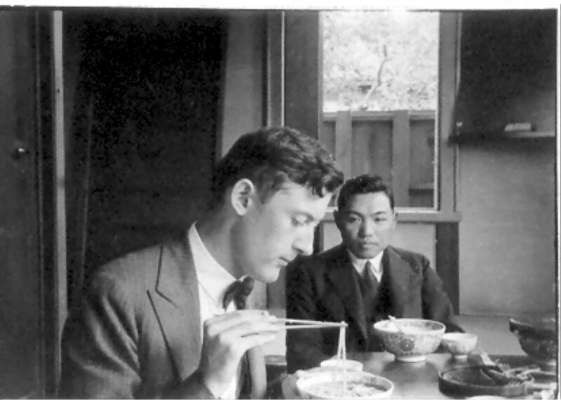 Joseph R. Scherer in Japan, 1930