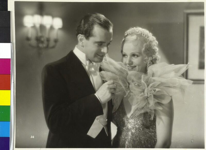 G. Alpár neben Hans Jaray in dem Film Ball im Savoy nach P. Abrahams gleichnamiger Operette©Bildarchiv Austria, ÖNB