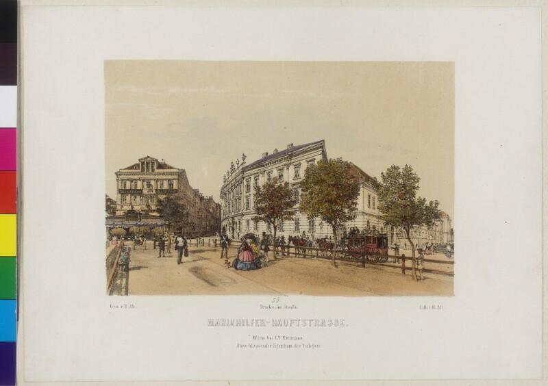 Wien, Mariahilfer Hauptstraße