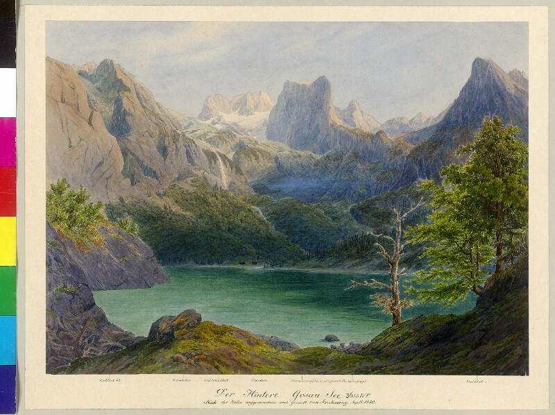 Hinterer Gosausee, 1850