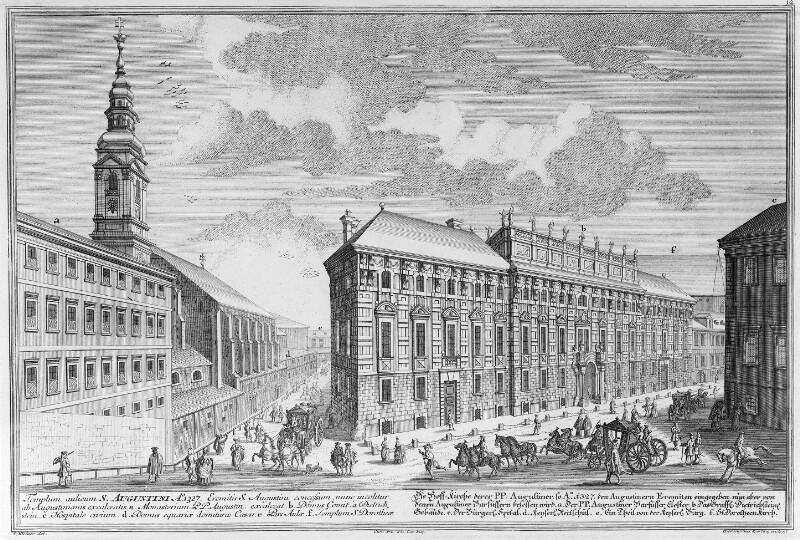 Wien 1, Augustinerkirche und Palais Lobkowitz