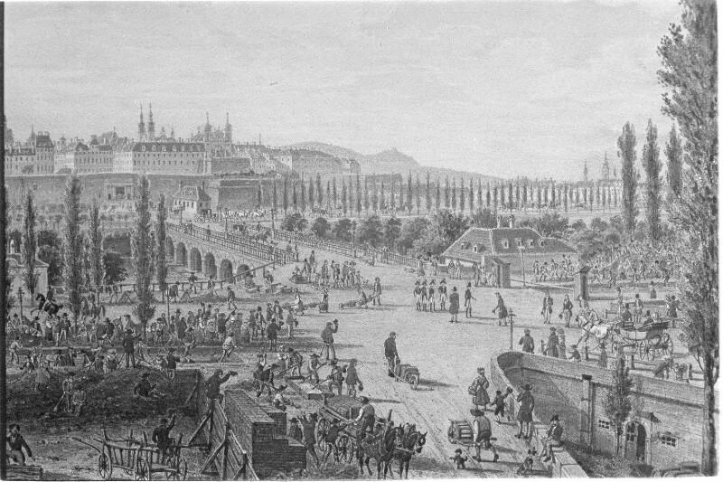 Wien um 1814