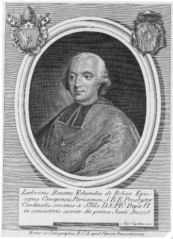 Louis René Edouard Prinz von Rohan 1734 - 1803
