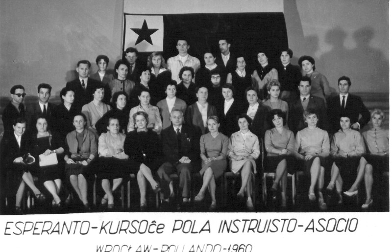 Esperanto-Kurs der Polnischen Lehrer-Vereinigung, Wrocław 1960