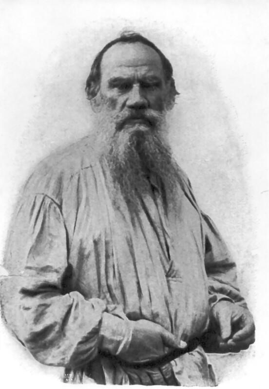 Leo N. Tolstoi, um 1880