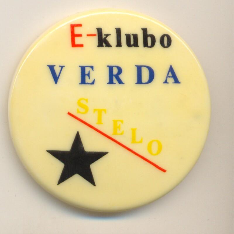 Abzeichen: E-Klubo Verda Stelo