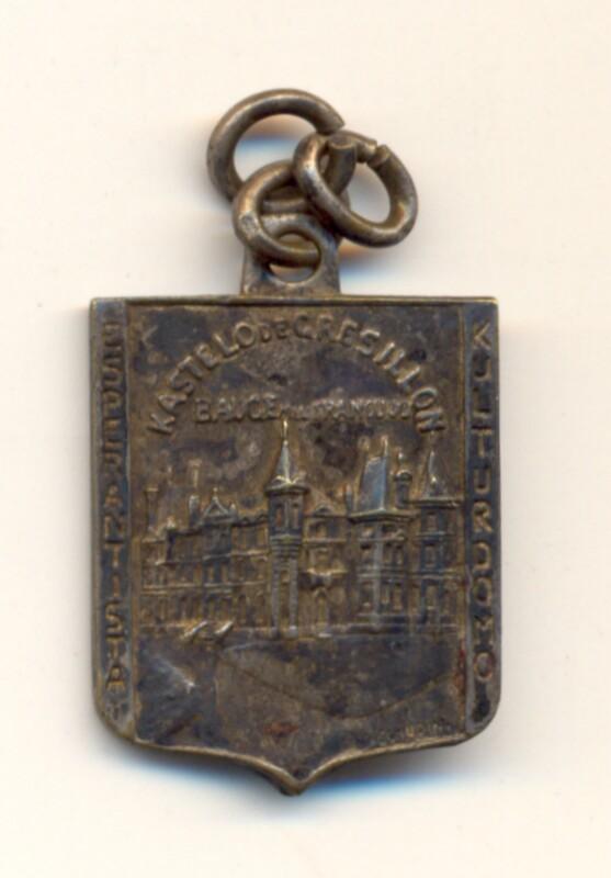 Abzeichen: Esperantista Kulturdomo Kastelo de Grésillon, Baugé