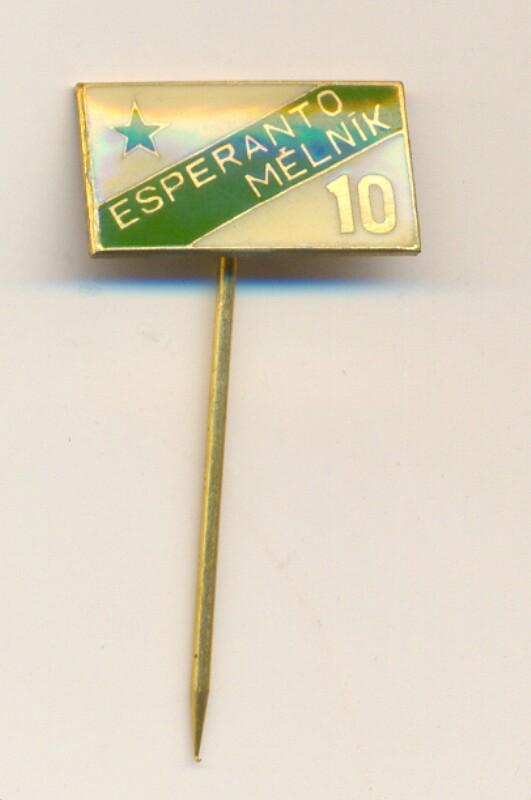 Abzeichen: Esperanto Mělník, 10