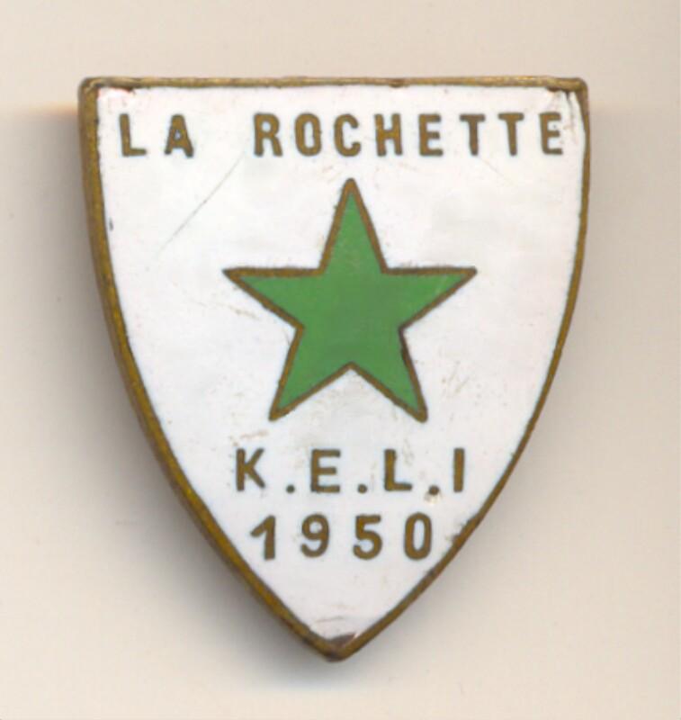 Abzeichen: La Rochette, K.E.L.I. 1950