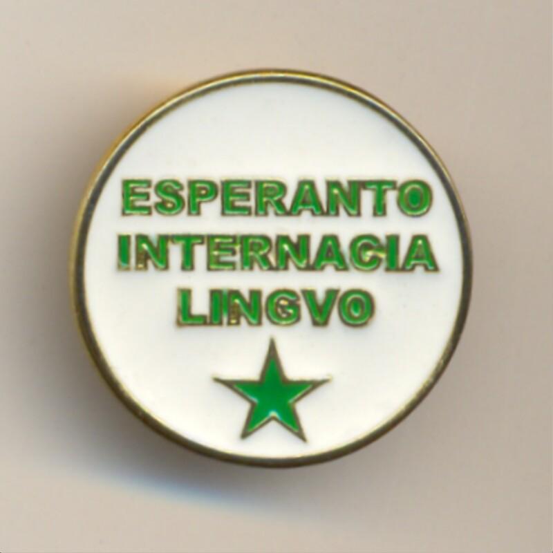 Abzeichen: Esperanto Internacia Lingvo