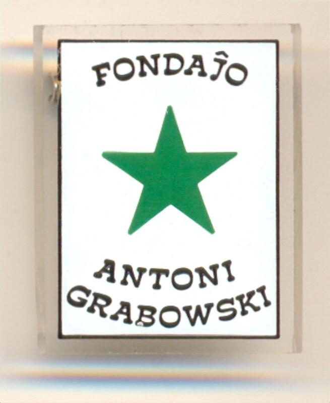 Abzeichen: Fondaĵo Antoni Grabowski