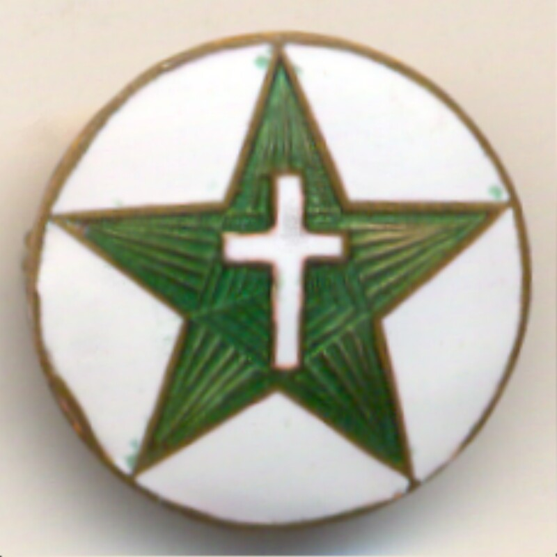 Abzeichen christlicher Esperantisten