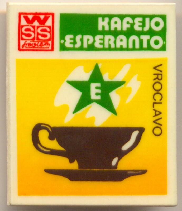 "Abzeichen: Kafejo ""Esperanto"", Vroclavo"
