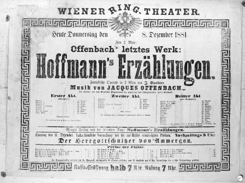 """""""Hoffmanns Erzählungen"""" von Jacques Offenbach"""