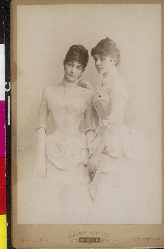 Marie Henriette Gräfin Chotek und Gabriela Gräfin Chotek