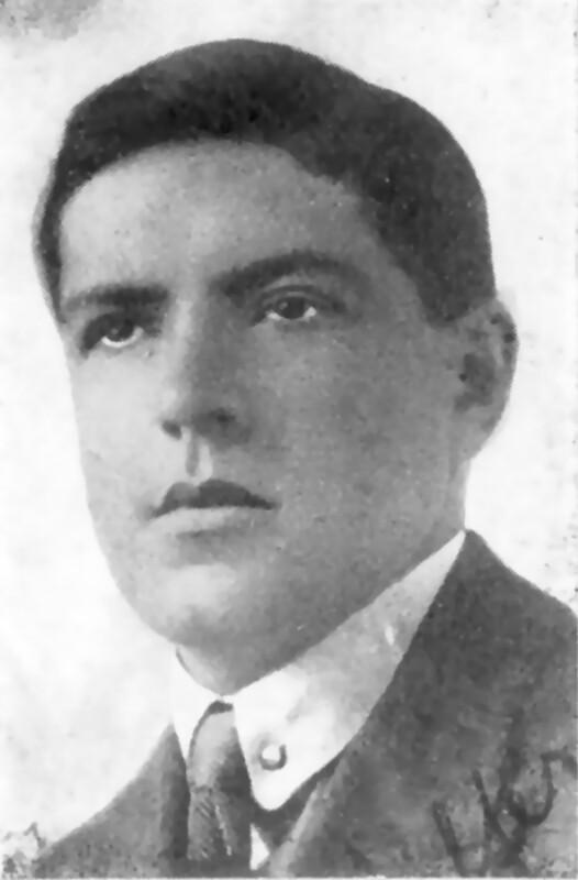 Emil Pfeffer, um 1915