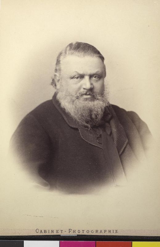 Porträt von Ferdinand Freiherr von Kotz-Dobrz