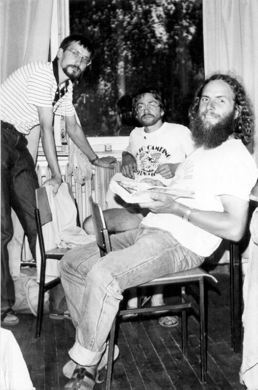 Andrzej Sochacki, Claude Rouget und Christian Lavarenne, um 1985