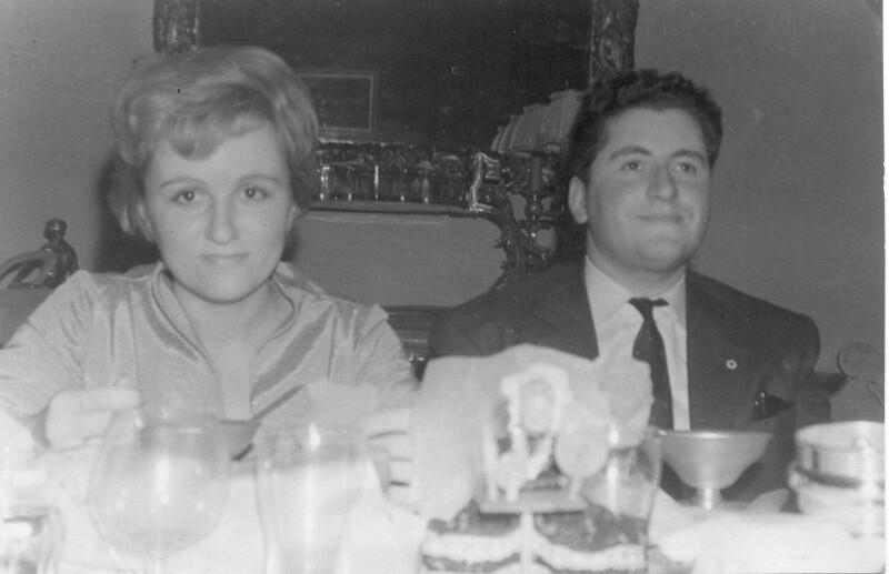 Ada Fighiera-Sikorska und Gian Carlo Fighiera, Brüssel 1960