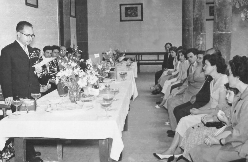 Esperanto-Kurs, La Laguna 1955