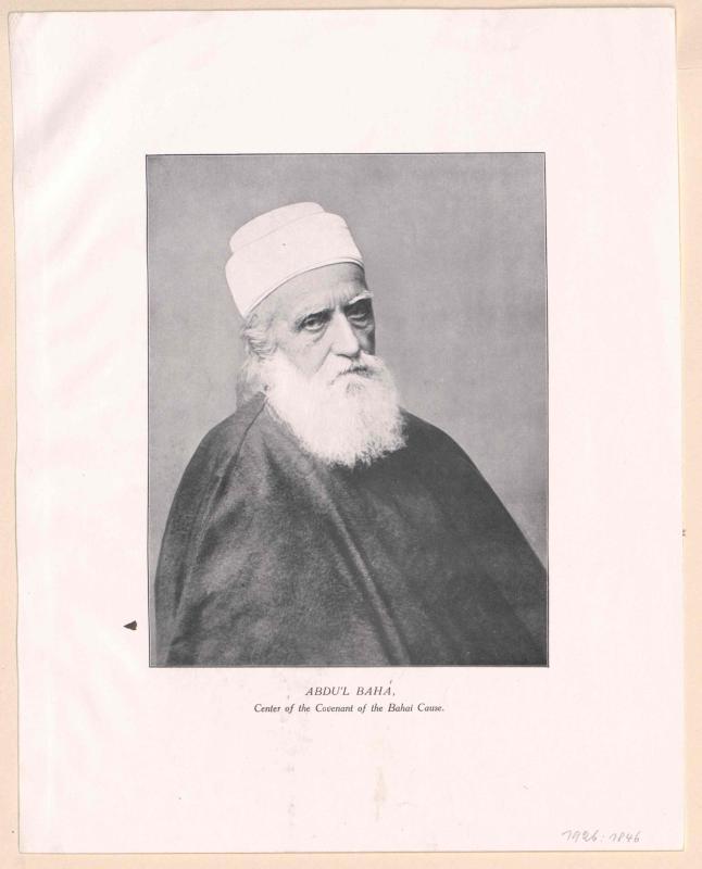 Abdu'l Baha