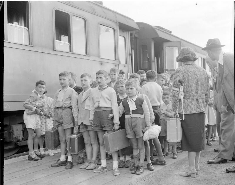 457 Kinder aus Norditalien kommen zur Erholung nach Wien