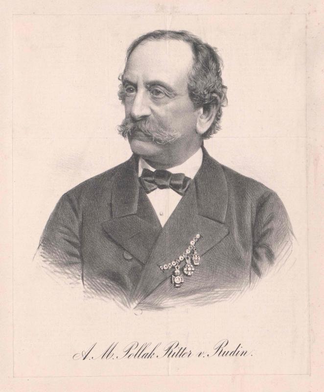 Pollak, Ritter von Rudin, Adolf M.