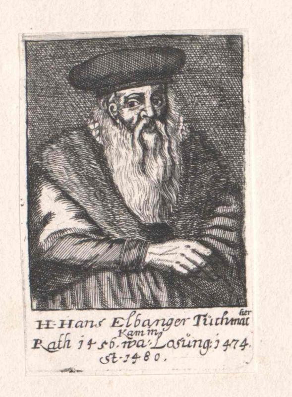 Elbanger, Hans
