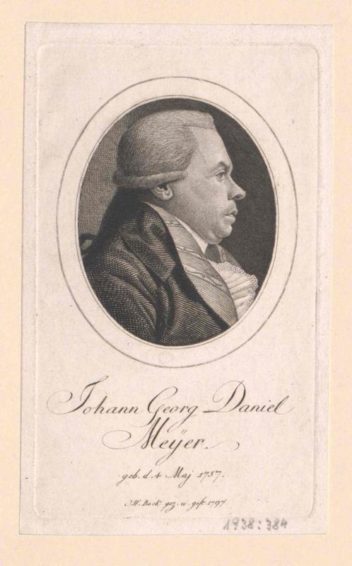 Meyer, Johann Georg Daniel