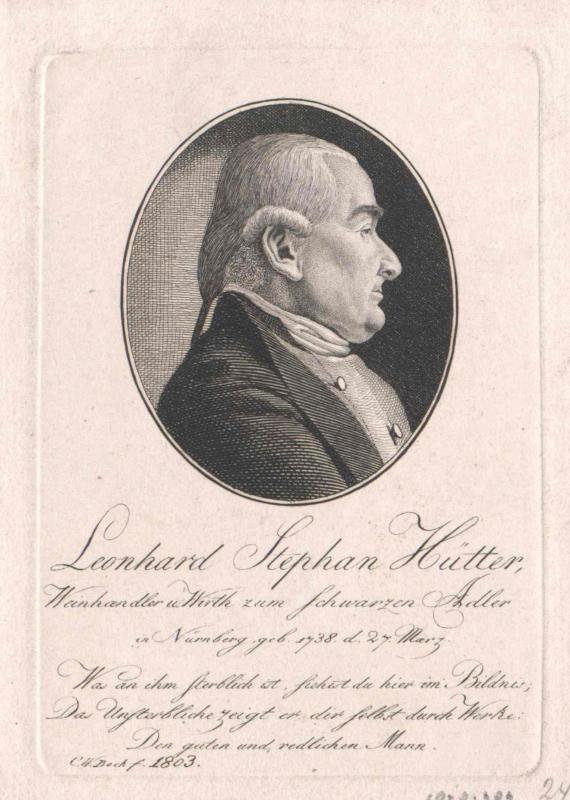 Hütter, Leonhard Stephan