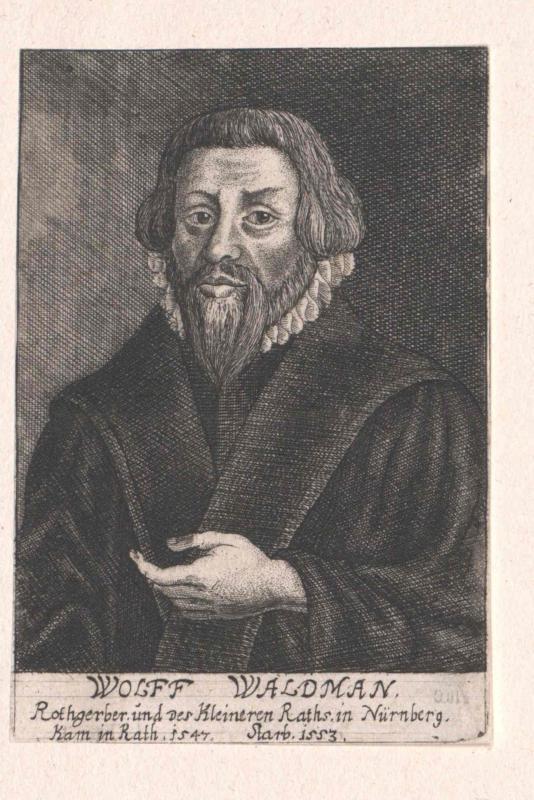 Waldmann, Wolf