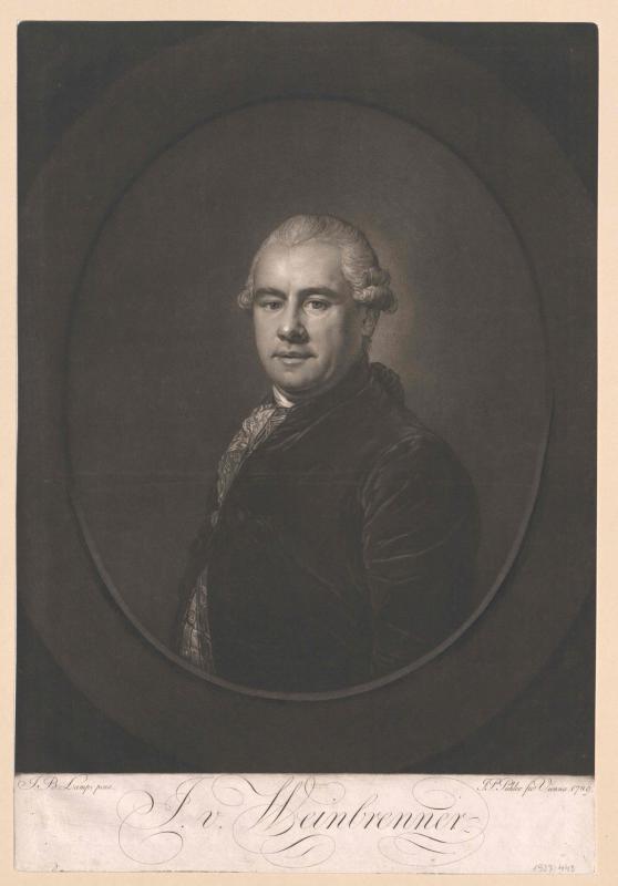 Weinbrenner, Josef Paul Freiherr von