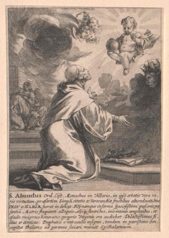 Abundus von Villers, Heiliger