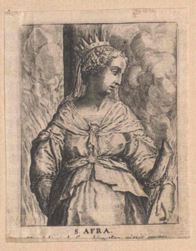 Afra von Augsburg, Heilige